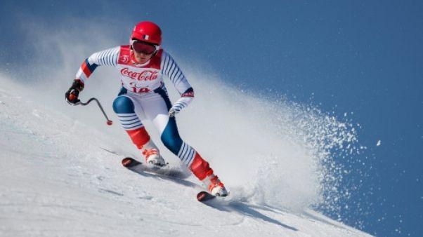 Jeux Paralympiques: un doublé en or pour Marie Bochet