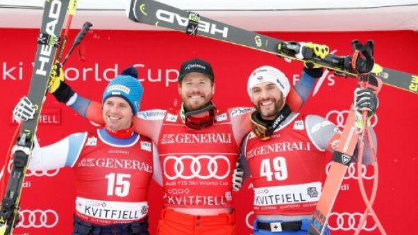 Super-G: Jansrud, vainqueur s'assure le petit globe, Roger, 3e à Kvitfjell