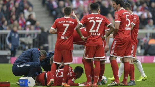 Bayern: Tolisso victime d'un grave contusion au tibia