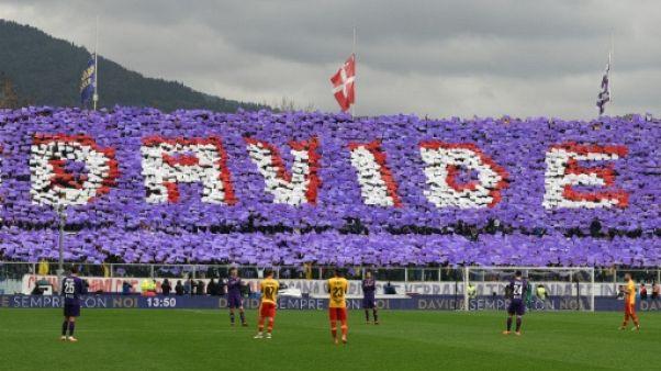 Italie: le coeur brisé, la Fiorentina gagne son premier match sans Astori