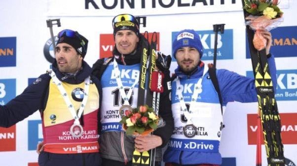 Coupe du monde de biathlon: la belle opération de Fourcade