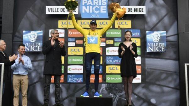Cyclisme: Soler remporte Paris-Nice