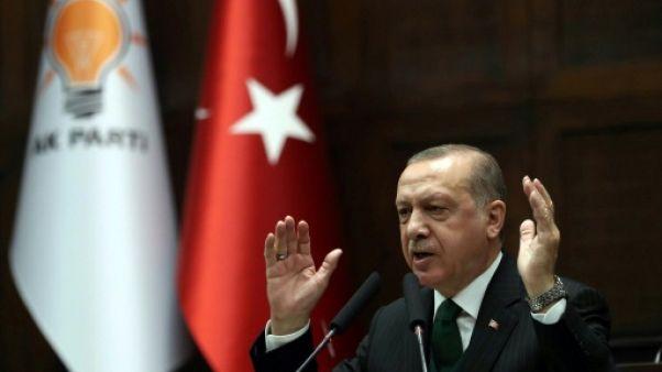 Erdogan s'en prend à l'Otan pour ne pas soutenir l'opération turque en Syrie