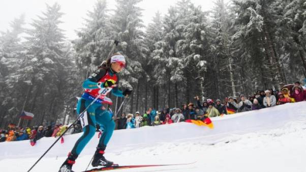 Biathlon: 3e place de la mass start de Kontiolahti pour Anaïs Chevalier, victoire de Hinz