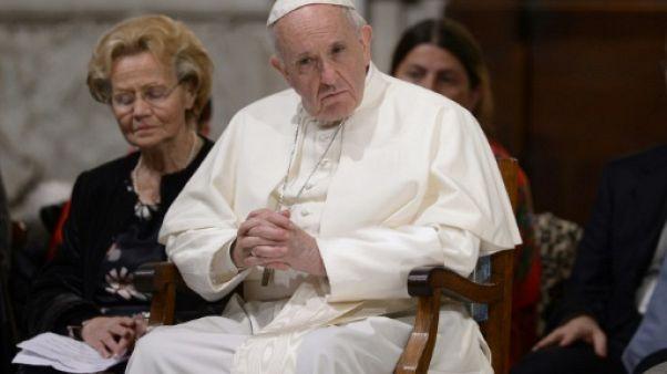 """Le pape encourage les """"corridors humanitaires"""" de réfugiés vers l'Italie"""