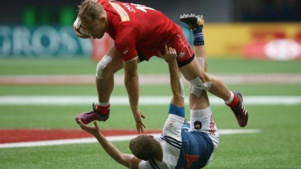 Rugby à VII: la France sombre à Vancouver