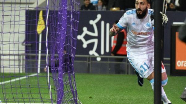 Ligue 1: Mitroglou fait gagner l'OM à Toulouse