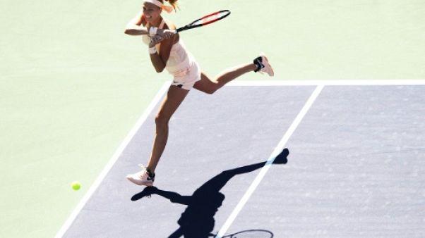 Tennis: fin de série pour Kvitova à Indian Wells