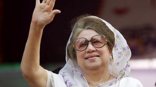 الإفراج عن رئيسة وزراء بنجلادش السابقة بكفالة وحزبها يدرس مقاطعة الانتخابات