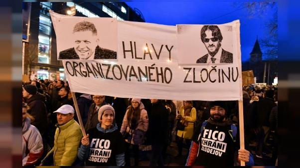Slovaquie: le ministre de l'Intérieur démissionne après le meurtre d'un journaliste