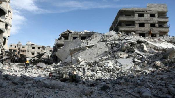 Ghouta: le régime syrien poursuit son avancée dans le fief rebelle morcelé