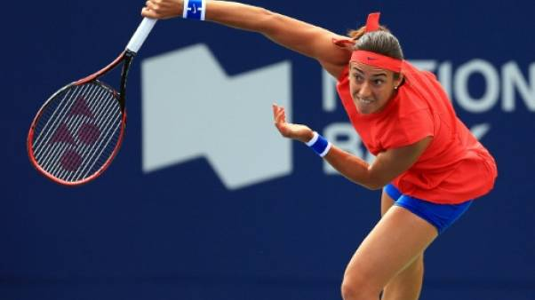 Tennis: Caroline Garcia en 8e à Indian Wells