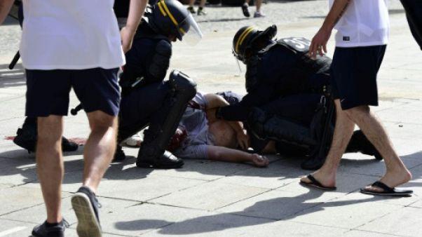 Un hooligan russe écroué en France pour l'agression d'un Anglais lors de l'Euro-2016
