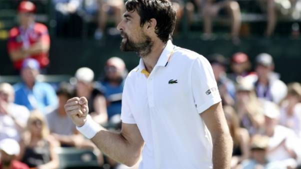 Tennis: Chardy va défier Federer à Indian Wells