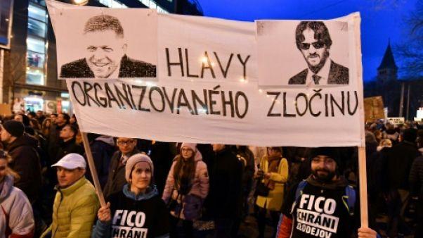 Slovaquie: démission du ministre de l'Intérieur, appels à des élections anticipées