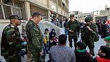Syrie: évacuations de dizaines de civils de la Ghouta