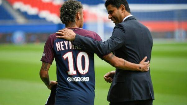 PSG: le Nasser Al-Khelaïfi a rendu visite à Neymar au Brésil