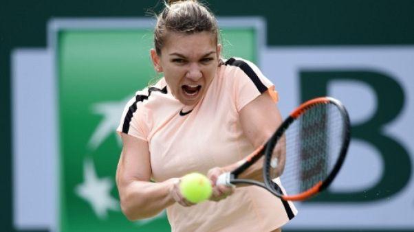 Tennis: Halep et Pliskova au rendez-vous des quarts à Indian Wells