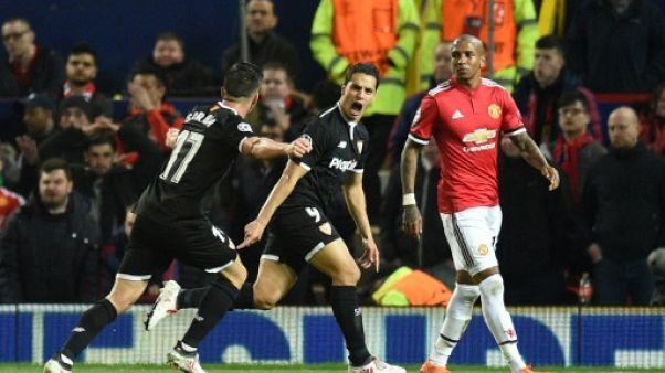 Ligue des champions: Ben Yedder et Séville surprennent un pâle Manchester United