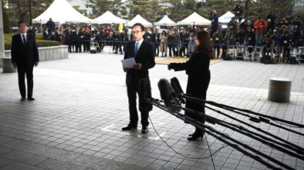 Un ancien-président sud-coréen entendu pour corruption