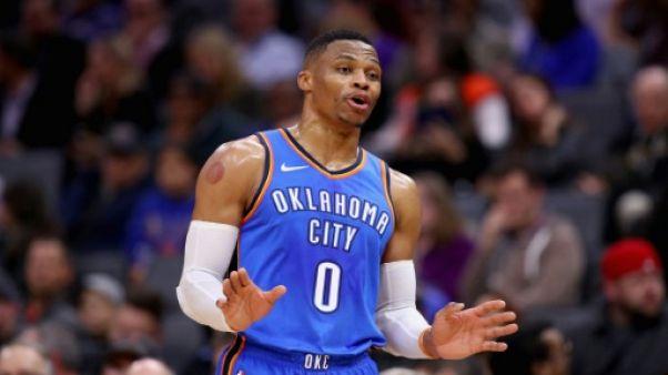 NBA: Westbrook centenaire heureux, Cleveland rebondit