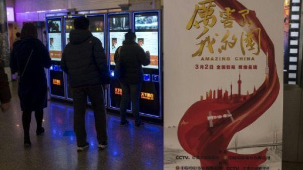En Chine, ciné obligatoire pour un film à la gloire du président Xi