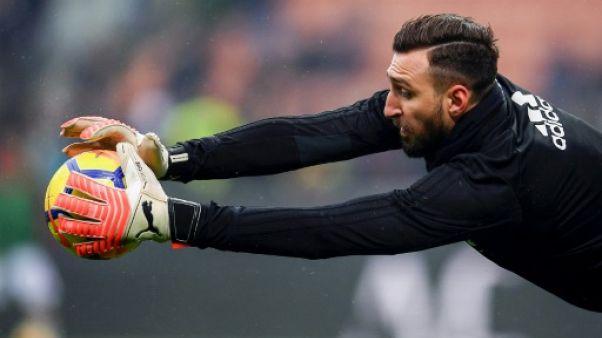 Europa League: Donnarumma, Milan en attendant Raiola
