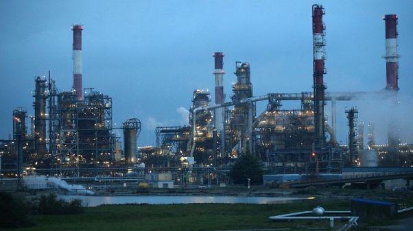 انتاج النفط الأمريكي يسجل أعلى مستوى أسبوعي