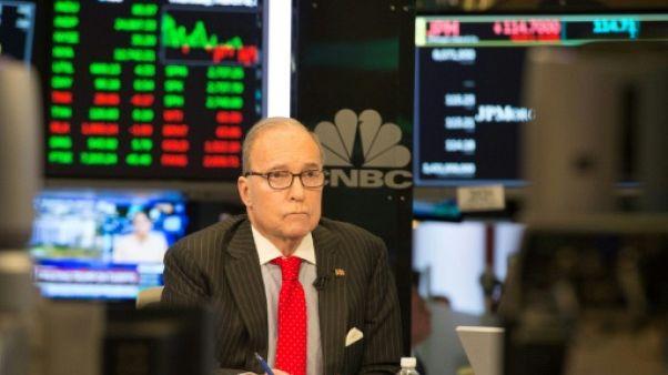 Le médiatique Larry Kudlow devient conseiller économique de Trump