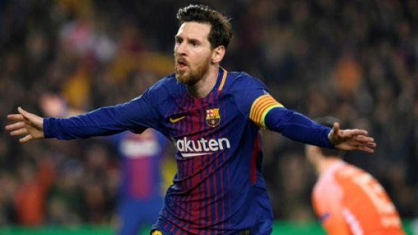 Ligue des champions: le Barça sans pitié pour Chelsea, Messi centenaire