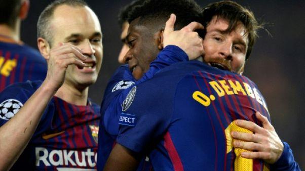 Ligue des champions: Barça et Bayern rejoignent les quarts