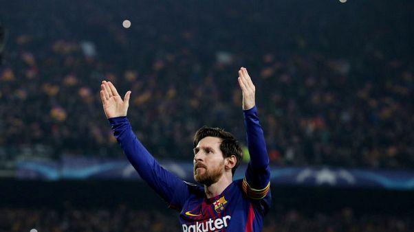 الساحر ميسي يساعد برشلونة على الإطاحة بتشيلسي