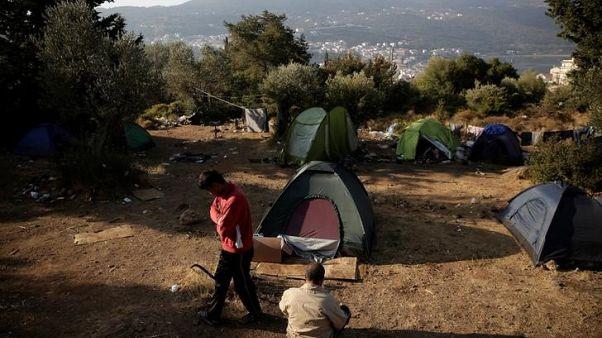 منظمة: إصابة 11 على الأقل من طالبي اللجوء في اشتباكات في ليسبوس اليونانية
