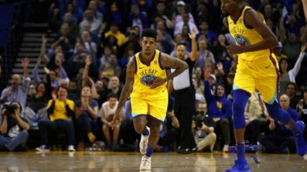 NBA: Golden State rebondit avec son équipe bis
