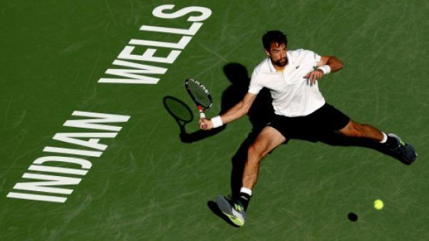 Tennis: pas de miracle pour Chardy et Herbert à Indian Wells