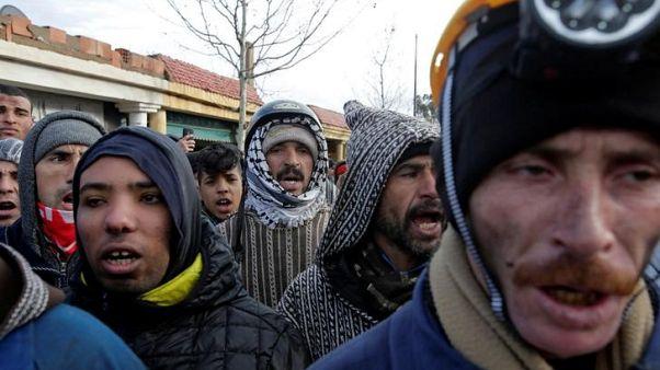 اشتباكات بين محتجين والشرطة في مدينة جرادة المغربية