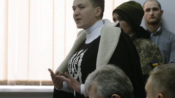 Ukraine's Savchenko goes on hunger strike over detention