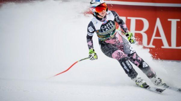 Ski: le globe du super-G pour Weirather, la course pour Goggia