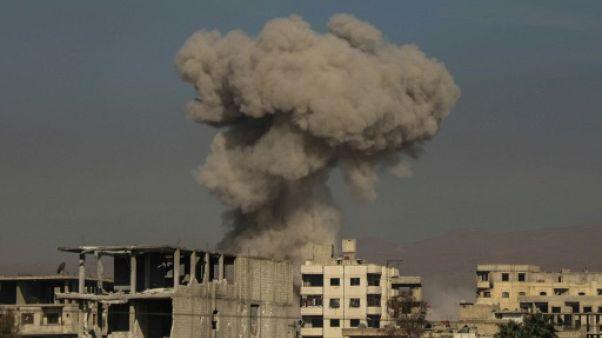 Syrie: un convoi d'aide entre dans l'enclave rebelle de la Ghouta