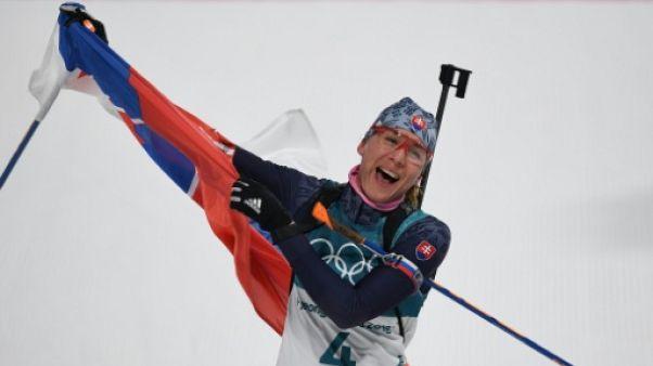 Biathlon: la belle affaire de Kuzmina