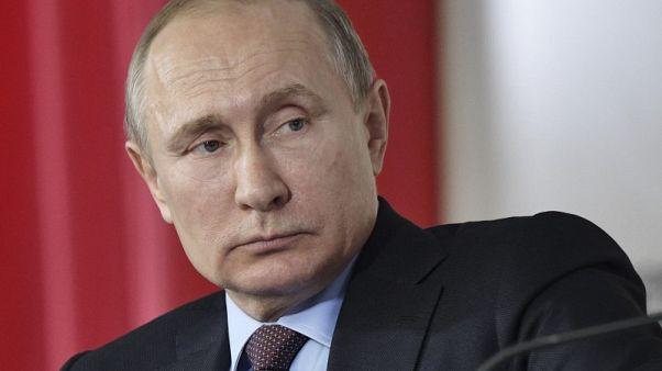 الكرملين: بوتين بحث مع مجلس الأمن الروسي الوضع في الغوطة والعلاقات مع لندن