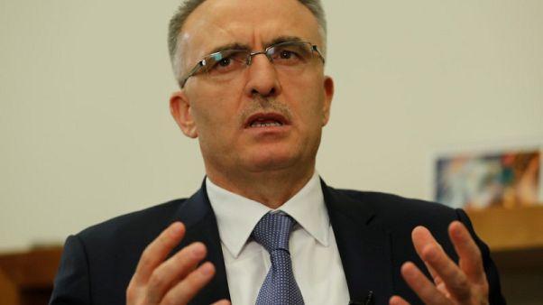 وزير المالية: عجز ميزانية تركيا 1.9 مليار ليرة في فبراير