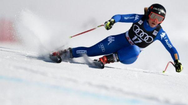 Ski: Goggia et Kriechmayr terminent fort au super-G