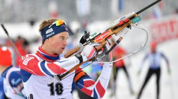 Biathlon: victoire de l'Abbe-Lund sur le sprint d'Oslo, Fourcade 3e derrière Boe