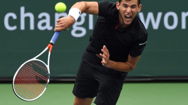 النمساوي تيم ينسحب من بطولة ميامي المفتوحة بسبب الإصابة