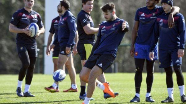 XV de France: les Bleus sur leur 31 à Cardiff
