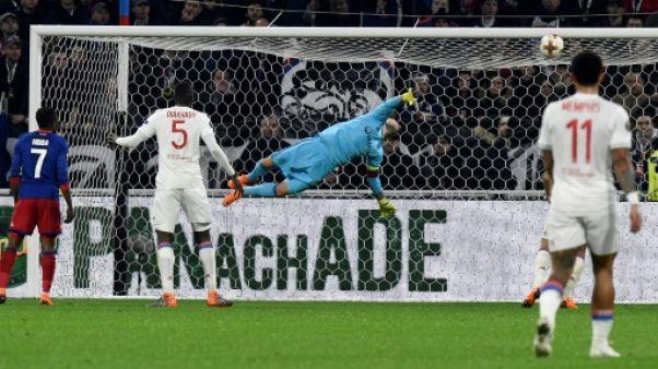 Europa League: Lyon prend la porte, Marseille le quart