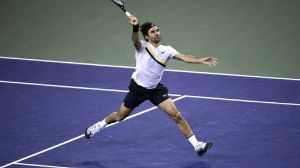 Tennis: Federer donne une leçon à Chung à Indian Wells