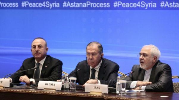 Syrie: discussions à Astana entre Russie, Iran et Turquie