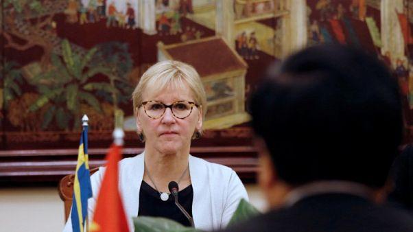 السويد تعبر عن سعادتها بالمساهمة في حل أزمة كوريا الشمالية